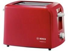 Тостер Bosch TAT 3A014, красный
