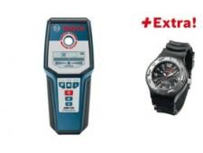 Bosch Цифровой детектор GMS 120 + наручные часы